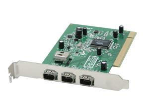 StarTech 4 Port IEEE-1394 FireWire PCI Card with Digital Video Editing Kit Model PCI1394_4
