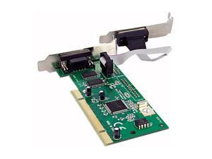 StarTech 2 Port PCI 16950 RS-232 Dual Voltage / Dual Profile Serial Card Model PCI2S950DV