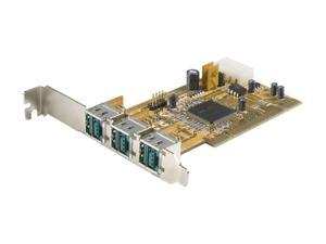 StarTech 3 Port PCI 12V PoweredUSB Adapter Card - USB PlusPower