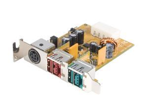 StarTech 2 Port Low Profile 12V/24V Powered USB Adapter Card Model PUSBADAPLP