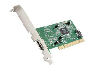 StarTech 1 Port eSATA + 1 Port SATA PCI Controller Card w/ LP Bracket Model PCIESATA2I