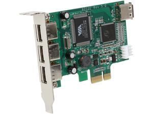 StarTech 4 Port PCI Express Low Profile High Speed USB Card Model PEXUSB4DP