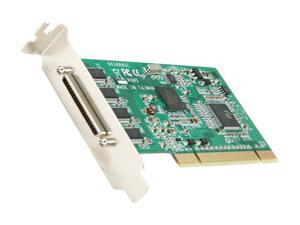 StarTech 8 Port Low Profile RS232 PCI Serial Card with 16950 UART Model PCI8S950LP