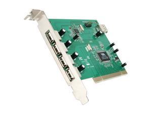 StarTech 7 Port PCI USB Card Adapter Model PCIUSB7