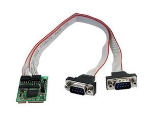 StarTech 2 Port RS232 Mini PCI Express Serial Card w/ 16950 Model MPEX2S952