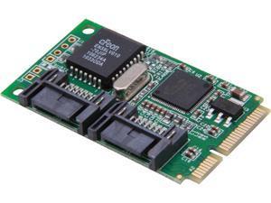 StarTech 2 Port Mini PCI Express Internal SATA II Controller Card Model MPEXSATA22I