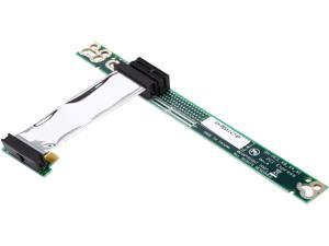 StarTech PCI Express Riser Card x1 Left Slot Adapter 1U with Flexible Cable Model PEX1RISERF