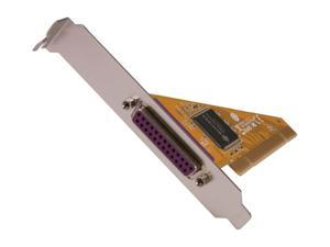 StarTech 1 Port PCI Parallel Adapter Card Model PCI1P2