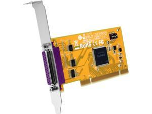 StarTech 1 Port PCI Parallel Adapter Card with Re-mappable Address Model PCI1PM