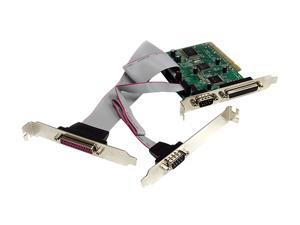 StarTech 2S2P PCI Serial Parallel Combo Card with 16C1050 UART Model PCI2S2PMC