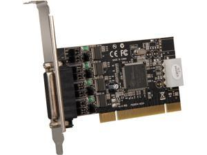 StarTech 4 Port RS232 PCI Serial Card Adapter with Power Output Model PCI4S954PW