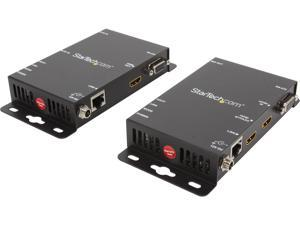 StarTech ST121UTPHD2 HDMI over Cat5 Video Extender with RS232 and IR Control