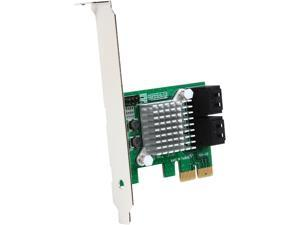 StarTech.com 4 Port PCI Express 2.0 SATA III 6Gbps RAID Controller Card with HyperDuo SSD Tiering - PCIe SATA 3 Controller Adapter
