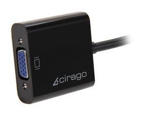 Cirago DPA1011 DisplayPort to VGA (HD-15) Adapter
