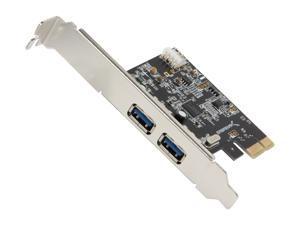 SABRENT USB 3.0 2-Port Desktop PCI Express Card Model PCIX-USB3
