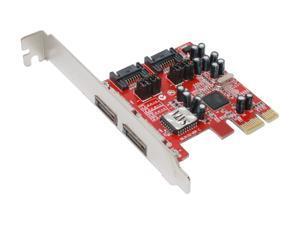 MASSCOOL PCI-e 4 port SATA2  (SIL3132 Chip) Model XWT-PCIE10