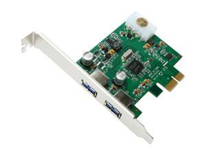 BYTECC PCIe NEC Chipset 2 Ports USB 3.0 Card Model BT-PEU310