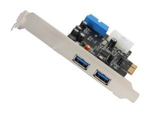 VANTEC 4-Port SuperSpeed USB 3.0 PCIe Host Card w/ Internal 20-Pin Connector Model UGT-PC345