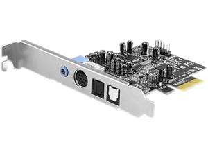 VANTEC 7.1 Channel PCIe Sound Card Model UGT-S220
