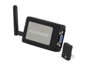 DIAMOND V-Stream Wireless WPCTVPRO PC to TV 1080P HDMI / VGA Interface