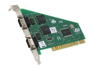 LAVA Computer 2-Port Serial Card (PCI Bus 16550) Model DSerial-PCI