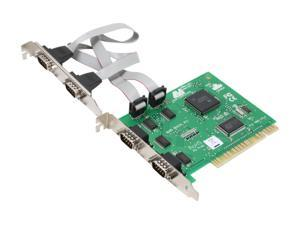 LAVA Computer 4 Port Serial Card (PCI Bus 16550) Model Quattro-PCI