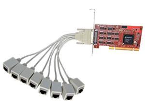 Comtrol RocketPort Infinity Octa PCIX UPCI 8 Port RJ45F RS-232/422/485 Model 30002-1