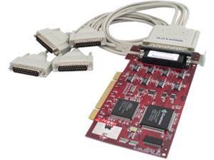 Comtrol RocketPort uPCI Quad DB25M - 4-Port RoHS Model 99343-8