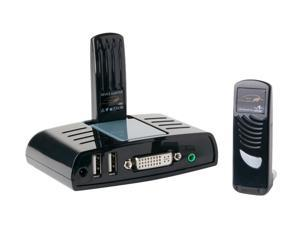 Atlona AT-PCLINK Wireless DVI with Stereo Audio and Dual USB - KVM Extender