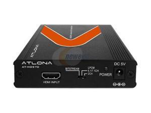 ATLONA HDMI (1.3) Audio De-Embedder with 3D Support AT-HD570