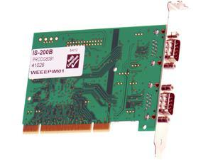 Brainboxes 2-port Serial PCI Adapter Model IS-200