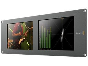 Blackmagic Design Smartscope Duo 4K Rack Mounted Dual 6G-SDI Monitors HDL-SMTWSCOPEDUO4K