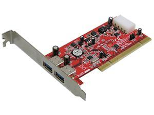 Addonics 2-Port USB 3.0 PCI Controller Model AD2U3PCI