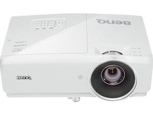 "BenQ MH741 Full HD 1080P Projector, 4000 ANSI Lumens, 10000:1 Contrast Ratio, 60""-196"" Image Size, D-Sub, HDMI x 2, USB, Composite Video, S-Video, Built-in Speaker"