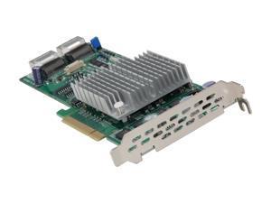 SUPERMICRO AOC-USASLP-S8iR PCI Express Low Profile SATA / SAS Controller Card
