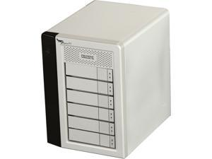 PROMISE Pegasus PR602US 12TB (6x2TB) 7200RPM SATA RAID 0, 1, 5, 6, 10 with 2 x Thunderbolt 10Gb/s port 6-Bay RAID Enclosure