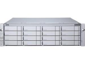 PROMISE VJ2600SZDAGE Dual 6Gbps SAS-wide port over SFF-8088 3U/16-bay Dual IO Modules JBOD Expansion Chassis with 16x2TB NL SAS HDDs