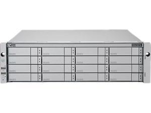 PROMISE VR2600FIDUBA RAID level 0, 1, 1E, 3, 5, 6, 10 (0+1), 30, 50, 60 Two 8Gbps Fibre Channels and Four iSCSI 1Gbps ports 3U/16-bay Dual-Controller RAID Subsystem