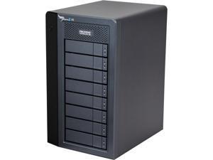 """PROMISE Pegasus2 R8 P2R8HD24US RAID 0, 1, 5,6,10,50,60 8 x 3.5"""" Drive Bays 2 x Thunderbolt 2 24TB RAID System - Retail"""