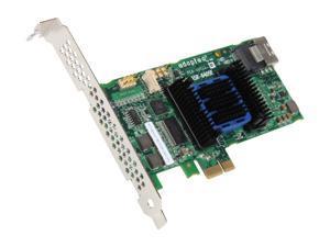 Adaptec RAID 6405E 2271700-R 6 Gb/s SATA / SAS 4 internal ports w/ 128MB cache memory Controller Card, Kit