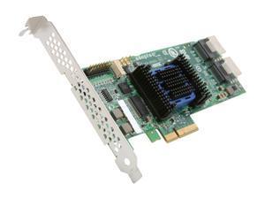 Adaptec RAID 6805E 2271800-R 6 Gb/s SATA / SAS 8 Internal Ports w/ 128MB Cache Memory Controller Card, Kit