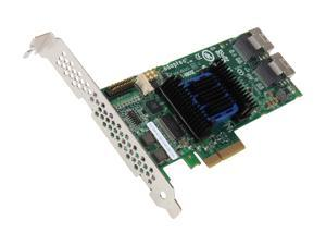 Adaptec RAID 6805E 2270900-R 6Gb/s SATA/SAS 4 internal ports w/ 128MB cache memory Controller Card, Single
