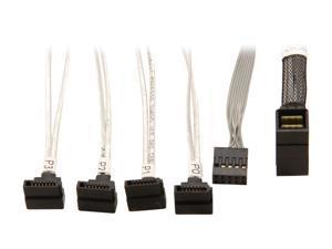 Adaptec 2279900-R ACK-I-rA-HDmSAS-4rASATA-SB-.8M Cable