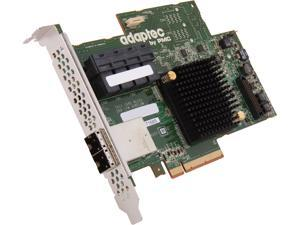 Adaptec Series 7 2274700-R 71685Single PCI-Express 3.0 x8 SATA / SAS RAID Controller Card