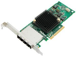 Adaptec Series 7H Family 70165H PCI-Express 3.0 x8 MD2-Low Profile SATA / SAS Host Bus Adapter (HBA)