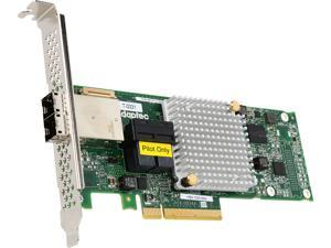 Adaptec 1000 2288500-R (1000-8i8e ) 8-Lane PCIe Gen3 Low-Profile, MD2 SATA / SAS 12 Gb/s PCIe Gen3  Host Bus Adapter