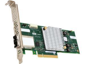 Adaptec 1000 2288100-R (1000-8e ) 8-Lane PCIe Gen3 Low-Profile, MD2 SATA / SAS 12 Gb/s PCIe Gen3  Host Bus Adapter