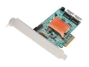 HighPoint RocketRAID 4520 8-Channel SAS/SATA 6Gb/s PCI-E 2.0 x8, DDR3 512MB Onboard Memory, RAID-on-Chip Controller Card