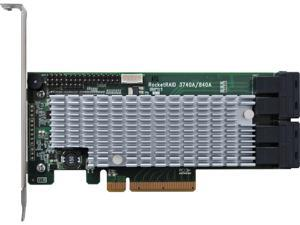 HighPoint RocketRAID 840A 8-lane, 8 GT/s PCI Express 3.0 Compliant Others PCIe 3.0 x8 6Gb/s SATA RAID Host Adapter