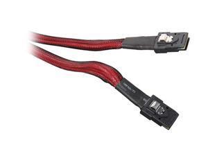 3ware CBL-SFF8087-06M 1 unit of 0.6m Multi-lane Internal (SFF-8087) Serial ATA cable